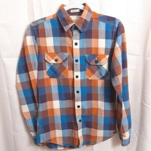 American Eagle Outfitters Long Sleeve Flan…